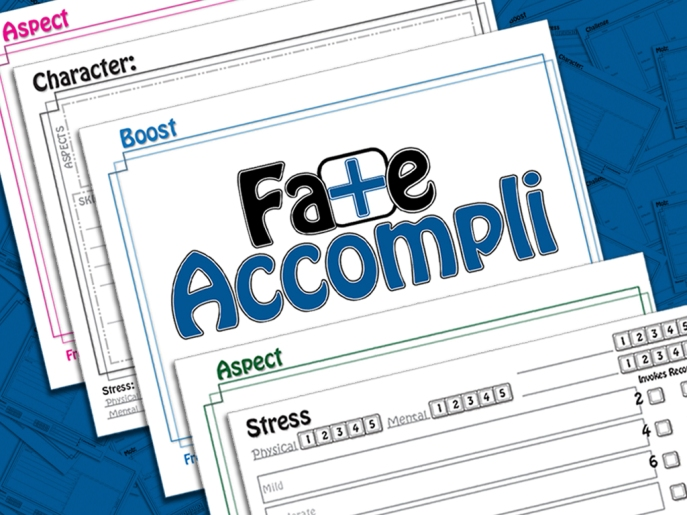 Fate Accompli Kickstarter Preview. Click Me!