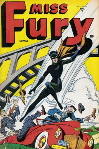 miss fury comic